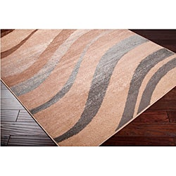 Meticulously Woven Trends Beige Stripe Abstract Rug (1'11 x 3'3) - Thumbnail 1
