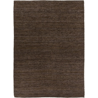 Hand-woven Cottage Brown Natural Fiber Jute Area Rug - 8' x 11'/Surplus