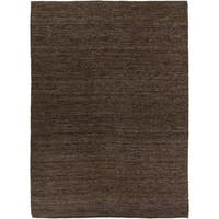 Hand-woven Cottage Brown Natural Fiber Jute Area Rug - 8' X 11'