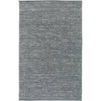 Hand-woven Cottage Grey Natural Fiber Jute Area Rug - 3'6 x 5'6