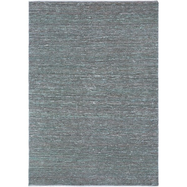 Hand-woven Cottage Grey Natural Fiber Jute Area Rug - 8' x 11'