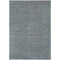Hand-woven Cottage Grey Natural Fiber Jute Area Rug - 8' X 11'