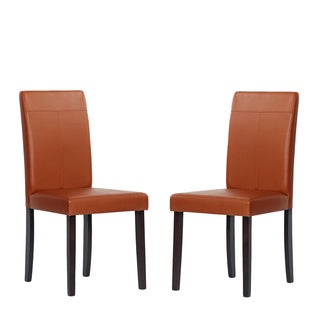 Warehouse of Tiffany Toffee Dining Chairs (Set of 4)