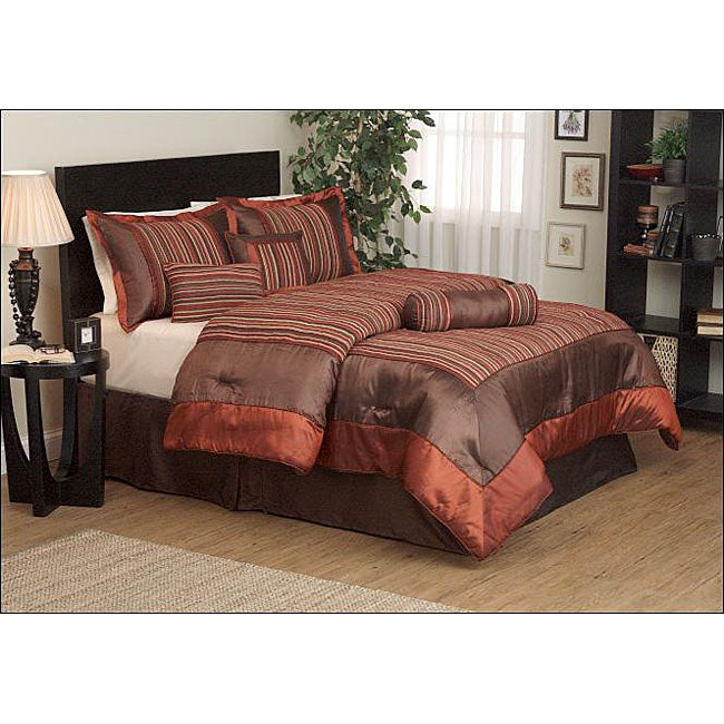 Shop Irena 7 Piece Chenille Comforter Set Free Shipping