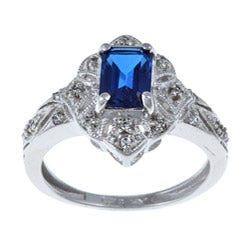 Sterling Essentials Sterling Silver Cubic Zirconia Ring - Thumbnail 0