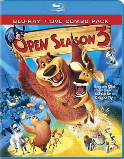 Open Season 3 (Blu-Ray/DVD Combo) (Blu-ray/DVD)