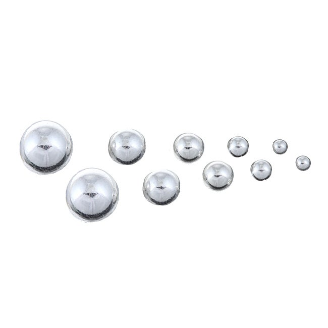Sterling Essentials Sterling Silver Stud Earrings (Set of 5)