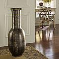 Antique Gold Floor Flare Vase (Indonesia)