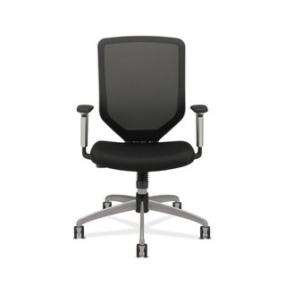 HON Boda High-Back Work Chair- Mesh Computer Chair for Office Desk, Black (HONMH01MM10C)
