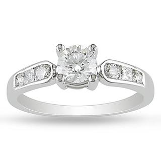 Miadora 14k Gold 3/4ct TDW Certified Diamond Engagement Ring