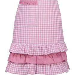 Gingham Ruffle Apron and Mitt Hostess Gift Set - Thumbnail 2