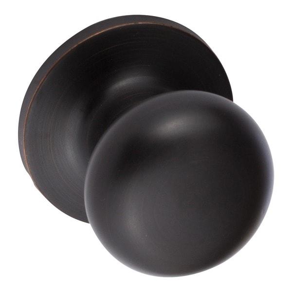 Sure-Loc Vintage Bronze Mushroom-shaped Dummy Door Knob