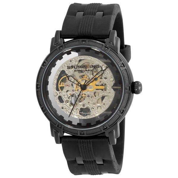 Stuhrling Original Men's Winchester Cavalier Skeleton Automatic Watch