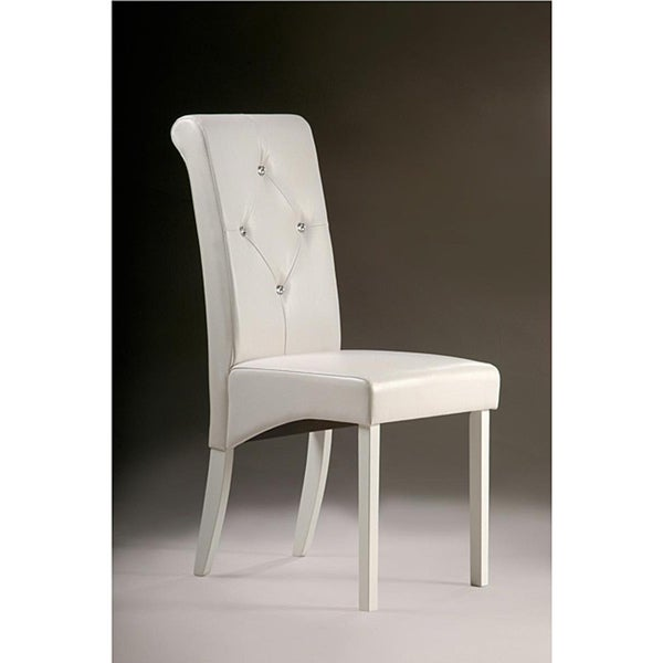 Warehouse of Tiffany White Dining Chairs (Set of 2)