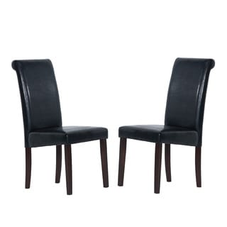 Warehouse of Tiffany Black Dining Chair (Set of 2)