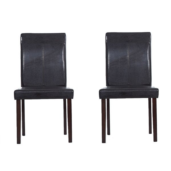 Warehouse Of Tiffany Brown Dining Room Chairs Set Of 4