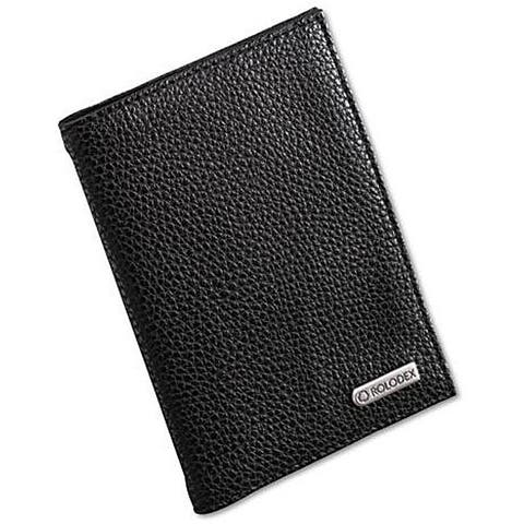 Rolodex Low-profile Faux-leather Passport Folio with Extra Pockets