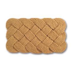 Rope Coir Braided Door Mat (30 x 18)