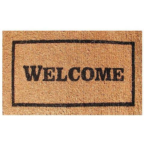 Welcome Door Mat (30x18)
