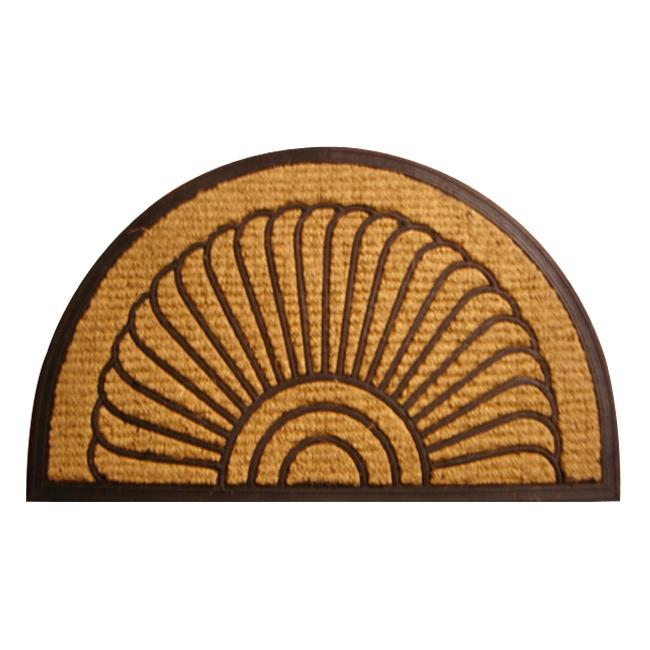 Fan Coir Door Mat (30 x 18) - Thumbnail 0