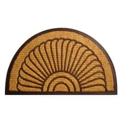 Fan Coir Door Mat (30 x 18) - Thumbnail 1