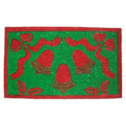 Christmas Bells Coir Door Mat (30 x 18)