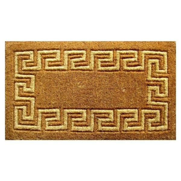 Bon Greek Key Coir Door Mat (36 X 60)