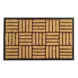 Criss Cross Coir Door Mat (30 x 18) - Thumbnail 2