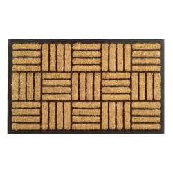 Criss Cross Coir Door Mat (30 x 18)