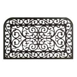 Monarch Rubber Abstract Door Mat (30 x 18)|https://ak1.ostkcdn.com/images/products/5530540/73/174/Monarch-Rubber-Abstract-Door-Mat-30-x-18-P13308538.jpg?impolicy=medium