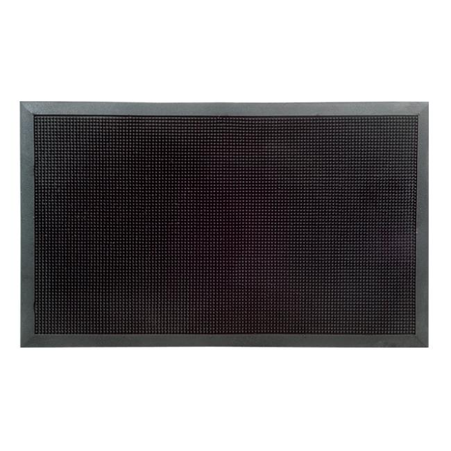 Black Rubber Stud Mat (30 x 18)