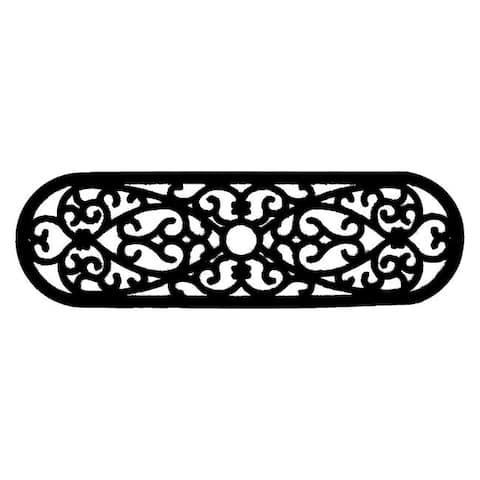 Elliptical Curl Door Mat (30 x 10) - 30 x 10