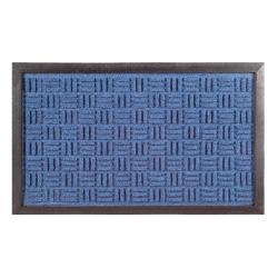 Synthetic Blue Door Mat (24 x 16)