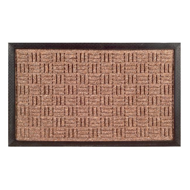 Shop Synthetic Brown Door Mat 36 X 24 On Sale Free