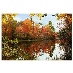Orange Cat Art 'Hanging Rock Lake' Photographic Print