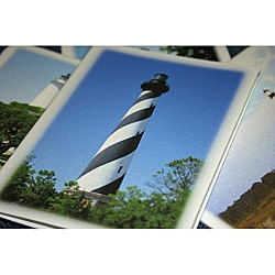 Orange Cat Art 'NC Lighthouse Collection' Note Cards (Set of 4)