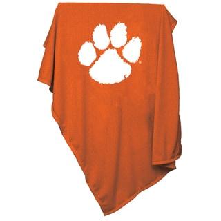 Clemson Sweatshirt Blanket