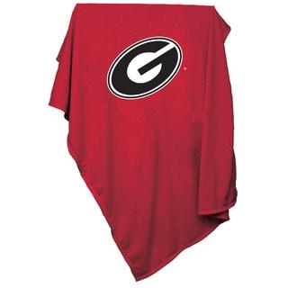 Georgia 'Bulldogs' Sweatshirt Blanket
