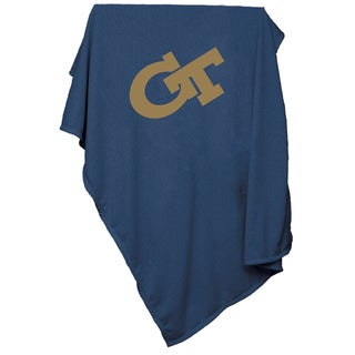 Georgia Tech Sweatshirt Blanket