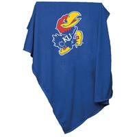 University of Kansas 'Jayhawks' Sweatshirt Blanket