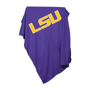 Louisiana State University Sweatshirt Blanket
