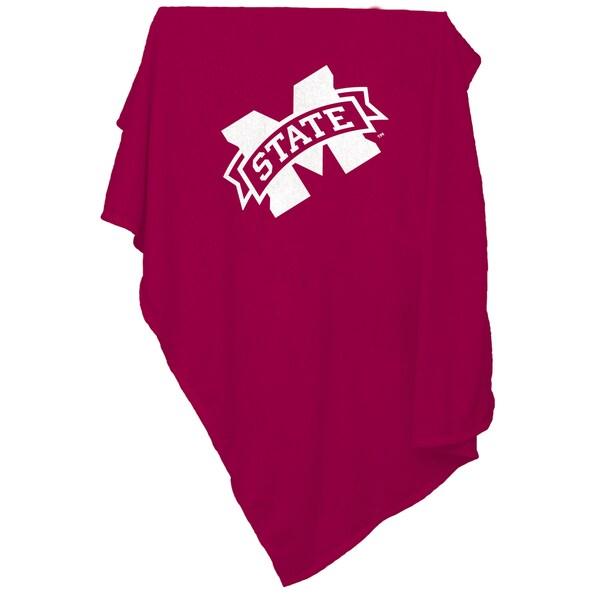 Mississippi State Sweatshirt Blanket
