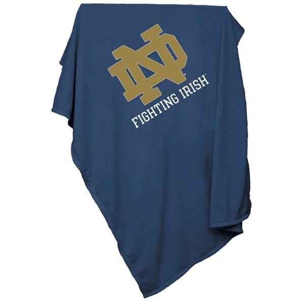 Notre Dame Sweatshirt Blanket
