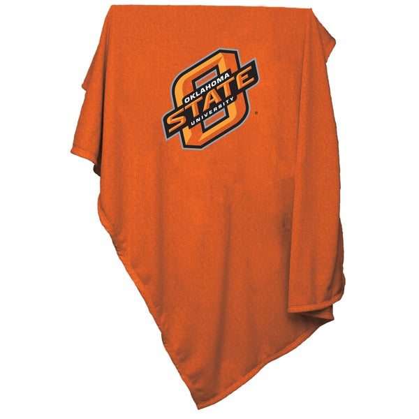 OK State Sweatshirt Blanket