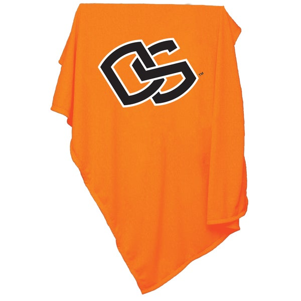 Oregon State University 'Beavers' Sweatshirt Blanket