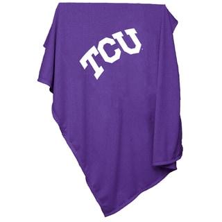 TCU Texas Christian University 'Horned Frogs' Sweatshirt Blanket