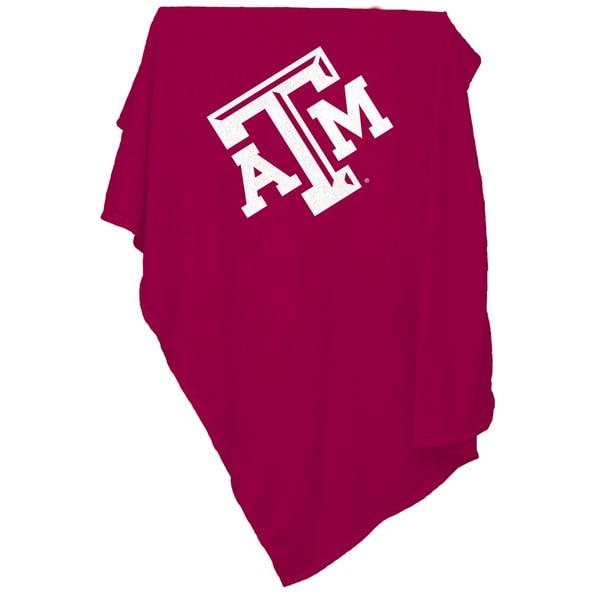 Texas A&M 'Aggies' Sweatshirt Blanket