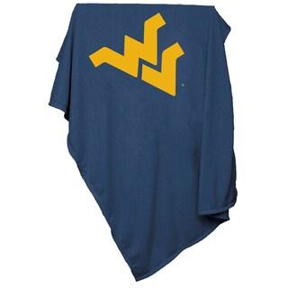 West Virginia University 'Mountaineers' Sweatshirt Blanket