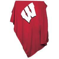 University of Wisconsin 'Badgers' Sweatshirt Blanket
