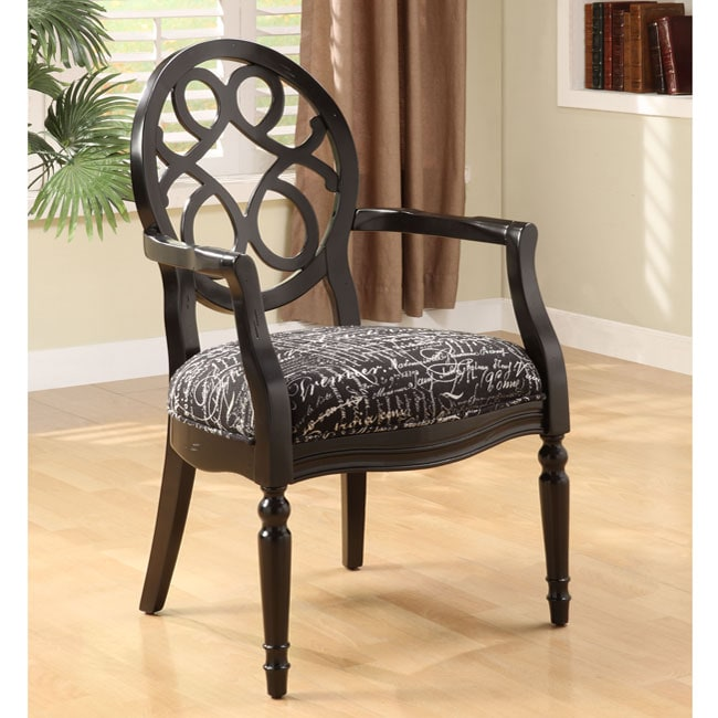 Infinity Font Noir Arm Chair